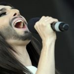 Conchita delights fans with free concert
