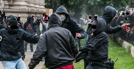Police used 'excessive violence' at demo