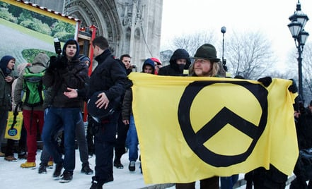Right-wing march in Vienna