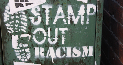'N-gger raus' – dealing with racism every day
