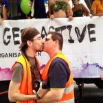 Even the parade marshals were showing the lovePhoto: Phil Moran/FFAB