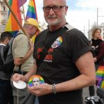 Austrians of all ages turned out in support of Russia's LGBT community.Photo: Kim Traill