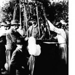 Cosmic rays were discovered by Victor Francis Hess. For many years, scientists had been puzzled by the levels of ionizing radiation measured in the atmosphere. Hess increased the precision of the equipment used to measure this radiation, and was able to measure radiation at altitudes of up to 5.3km during 1911-12, in a hot-air balloon (pictured). His conclusion was that there was radiation penetrating the atmosphere from outer space, and his discovery was confirmed in 1925.Photo: Wikimedia