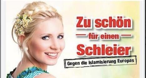 FPÖ poster opposes 'Islamification' of Europe