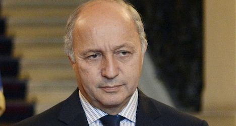 French foreign minister calls for Gaza ceasefire
