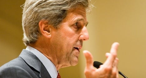 Kerry vows German friendship after spy row