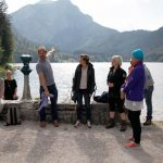 The Langbathseen are two lakes in Upper Austria's Salzkammergut. Feldküche member Martin Fetz greeted guests as they arrived. Photo: Beatrix Kovats