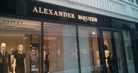 Vienna's luxury streets and boutiques