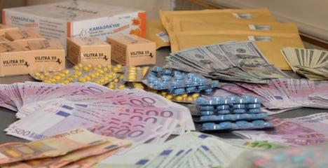 Insufficient postage betrays drug gang