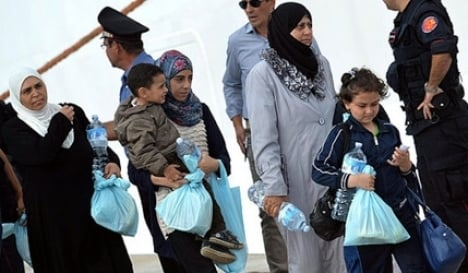 More refugees arrive in Tyrol from Italy