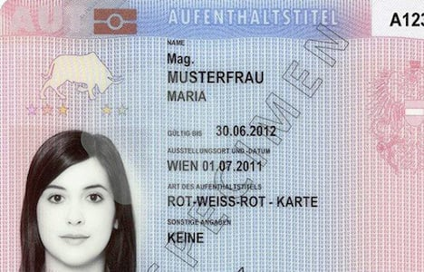 Serbians lead in new residence permits
