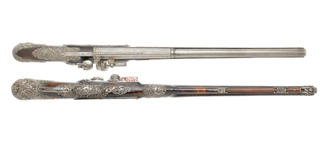 Pistols looted by Nazis to be sold at Bonhams