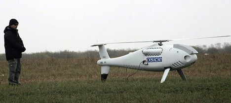 Attack on Austrian-made drone in east Ukraine