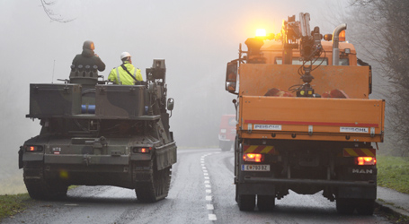 Tanks come to aid of ice storm victims