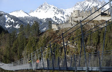 Tyrol bridge in Guinness Book of Records