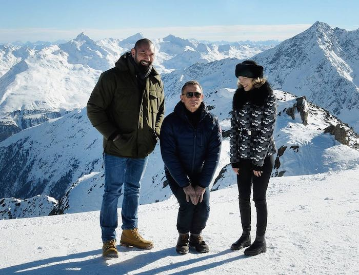 Spectre photocall with Daniel Craig