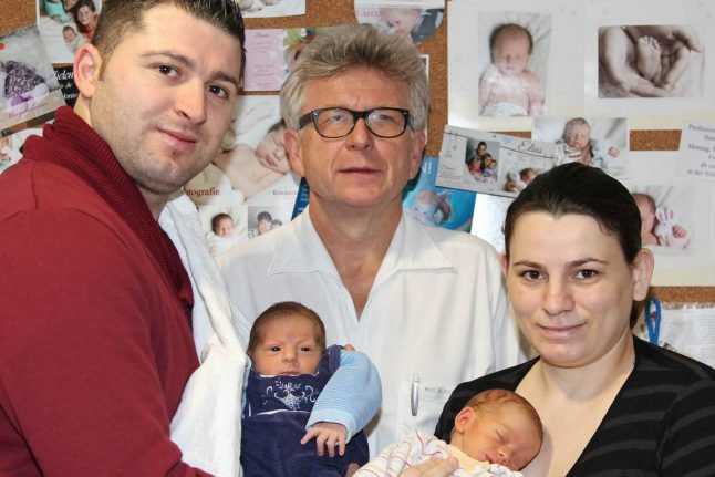 Glut of twins for small community hospital