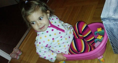 Interpol widen search for kidnapped toddler