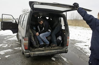 Austria helps bust migrant smuggling gang