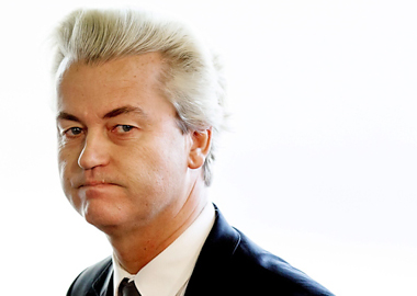 Protests for visit of Dutch right-winger