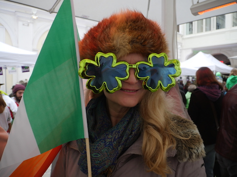 St. Patrick's Day parade in Vienna