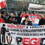 Austrian police charge eight Pegida marchers
