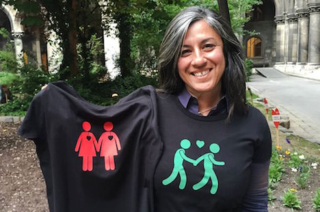 Green light for gay themed t-shirts