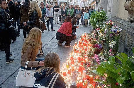 Police reconstruct events of Graz tragedy