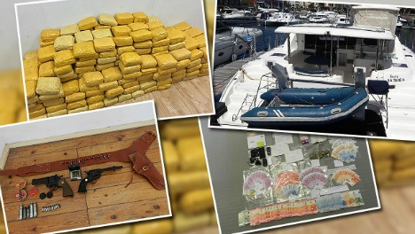 Father and son smuggled 600 kg coke on yacht