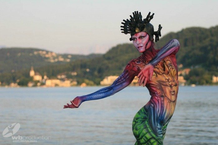 In Pictures: World Bodypainting Festival