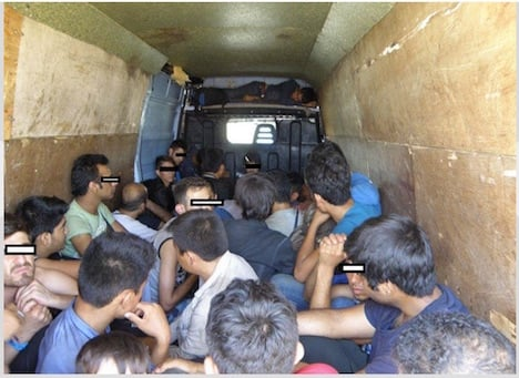 Calls for action over migrant influx