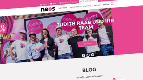 Neos candidate goes into hiding ahead of elections