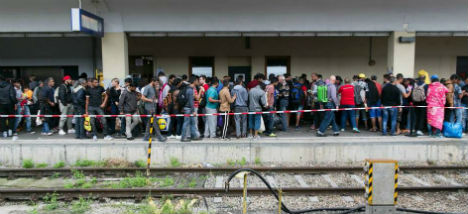 ÖBB suspends Hungary services due to migrants
