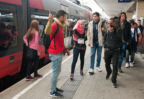 New spike in refugees entering Austria