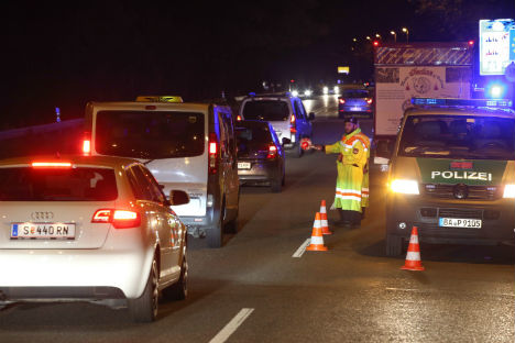 Border crossing chaos harks back to 80s