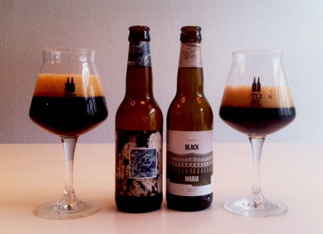 To Øl's Black Malts & Body Salts (on left) is among the world's 100 best beers. Photo: To Øl
