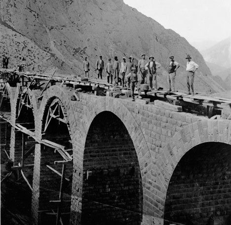 The Trans-Iranian Railway. Photo: COWI's historic archives