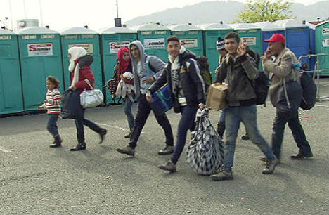 Slovenian army to help 'manage' refugee flow