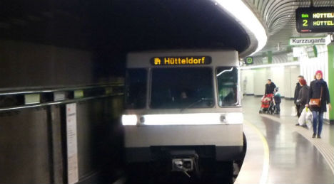 How to act like a local on Vienna's subway