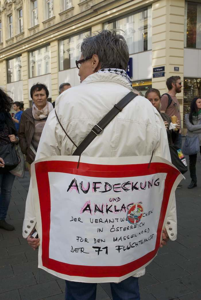 Austrians show strong support for refugees