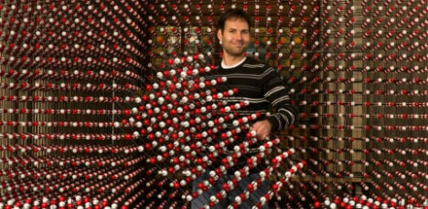 3D grain of salt aims for world record in Vienna
