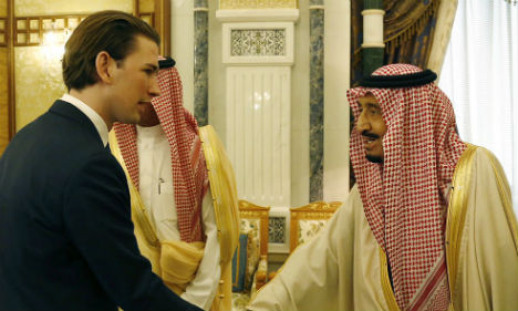 Austria speaks out on Saudi human rights