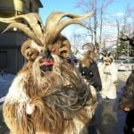 Asylum seekers face their fears with Krampus