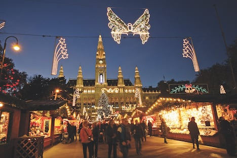 Vienna's Christmas markets not canceled