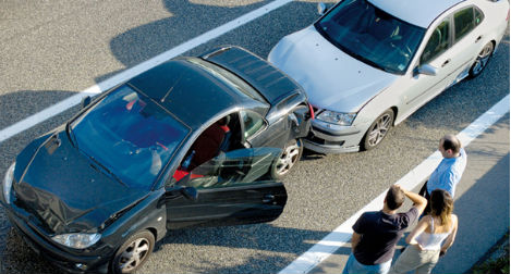 Road accidents 40% more likely on Fridays