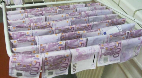 Danube cash handed over to lost property