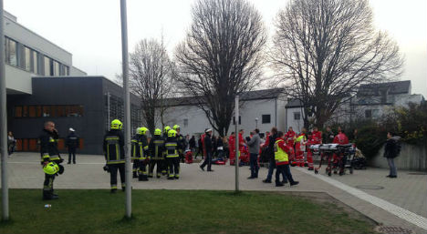 Mystery gas smell makes school pupils ill
