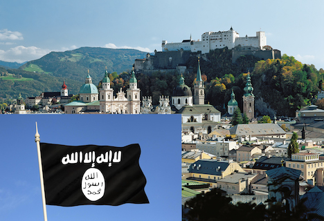 Two terror suspects nabbed in Salzburg