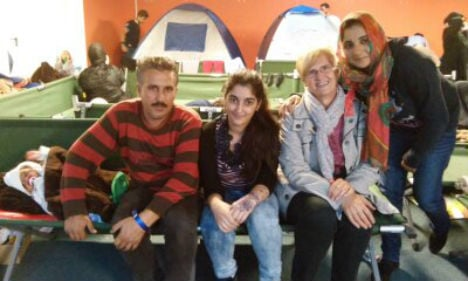 Giving refugees dignity at a transit camp in Styria