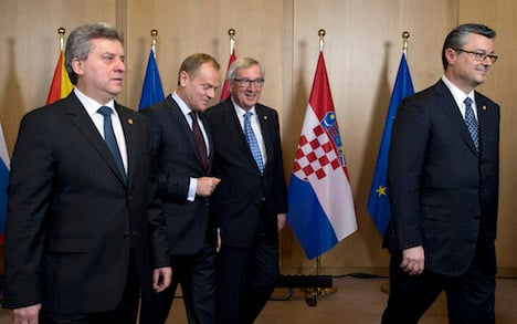 Balkan route may close with Austrian limit
